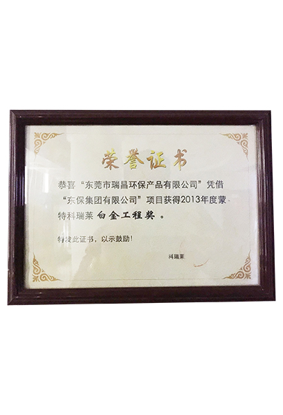 白金工程奖